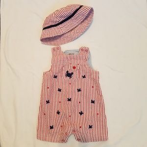 Little Me Romper and hat